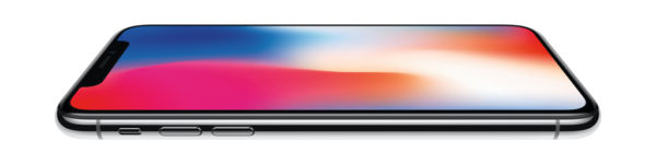 iPhone X horziontaal